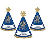 Royal Prince Charming – Mini円錐ベビーシャワーまたは誕生日パーティー帽子 – スモールLittle Party Hats – 10のセット
