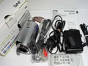 JVCケンウッド ビクター ハードディスクビデオカメラ Everio エブリオ プレシャスシルバー GZ-MG330-S