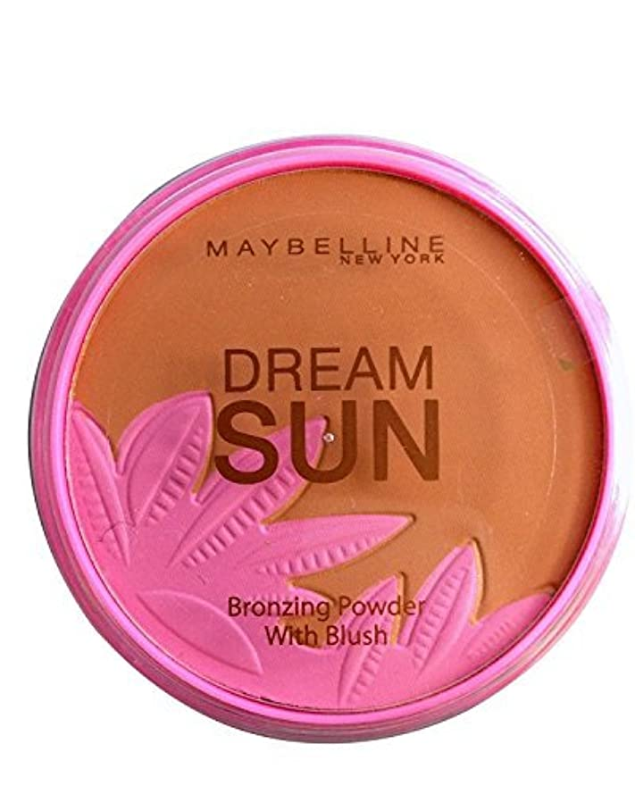 不確実単調なキャップMaybelline Dream Sun Bronzer with Blusher 08 Bronzed Paradise by Maybelline