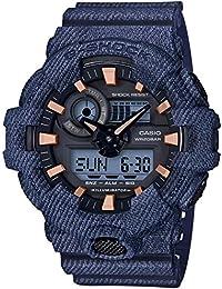 [カシオ]CASIO 腕時計 G-SHOCK ジーショック デニムドカラー GA-700DE-2AJF メンズ
