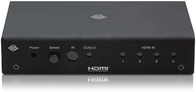 PLANEX ゲーム機対応HDMIセレクタ 入力4/出力1 (HDMI Ver.1.3b、HDCP) HDMI-SW0401