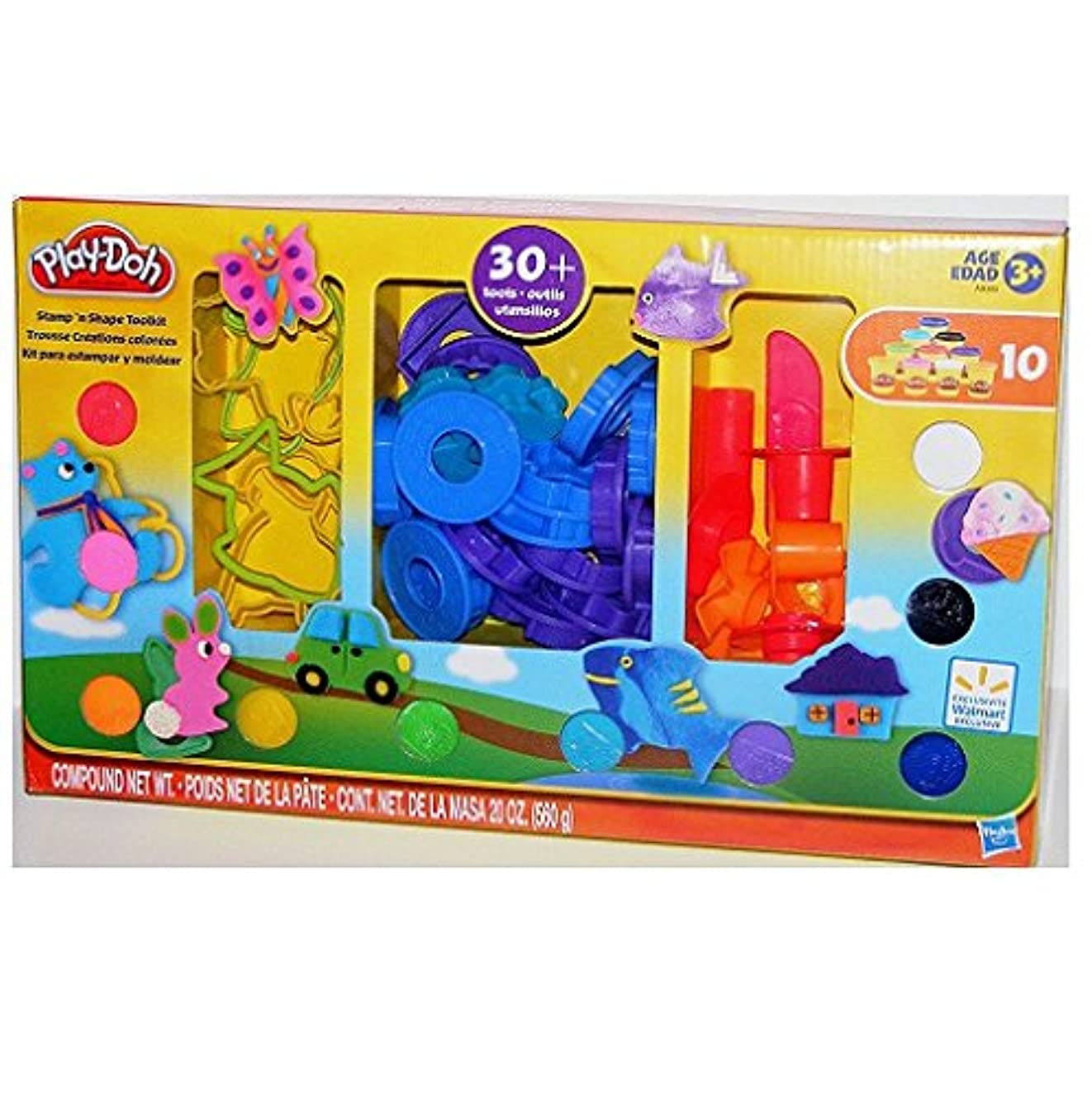 Play-Doh Stamp 'n Shape Toolkit
