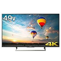 ソニー 49V型 液晶 テレビ ブラビア KJ-49X8000E B 4K Android TV 外付けHDD録画外付けHDD裏番組録画 2017年モデル