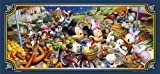 300ピース プチロング ディズニー 朝のマーケット (10x21.5cm)
