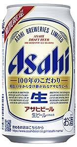 アサヒ生ビール [ 350ml×24本 ]