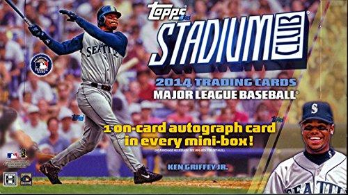 MLB 2014 TOPPS STADIUM CLUB BASEBALL メジャーリーグ公式ベースボールカード BOX