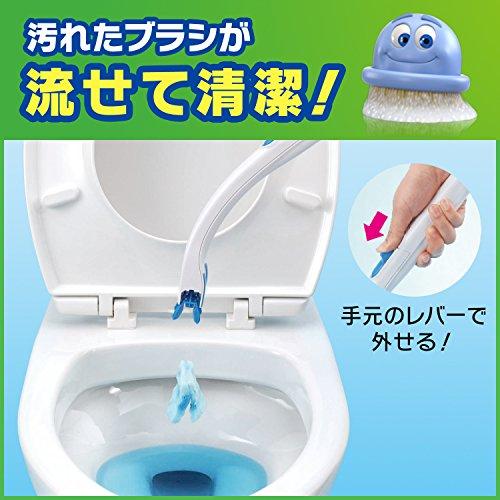 『スクラビングバブル トイレ洗剤 流せるトイレブラシ 付替用24個セット』の1枚目の画像