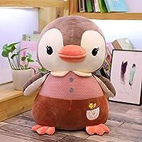 LYTZXC ぬいぐるみ、水族館子供女の子ホリデーギフト誕生日プレゼントに適したかわいいペンギン人形人形枕ぬいぐるみ、快適なダウンコットンパディング充填、 (Color : B, Size : 35cm)