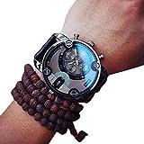 アディダス 腕時計 人気 おしゃれ 腕時計 メンズ ウォッチ 男の子 時計 長持ち 自分用、ビジネスギフト、休暇、誕生日、旅行、記念日などの贈り物に適用(ブラック) (腕時計, ブラック)