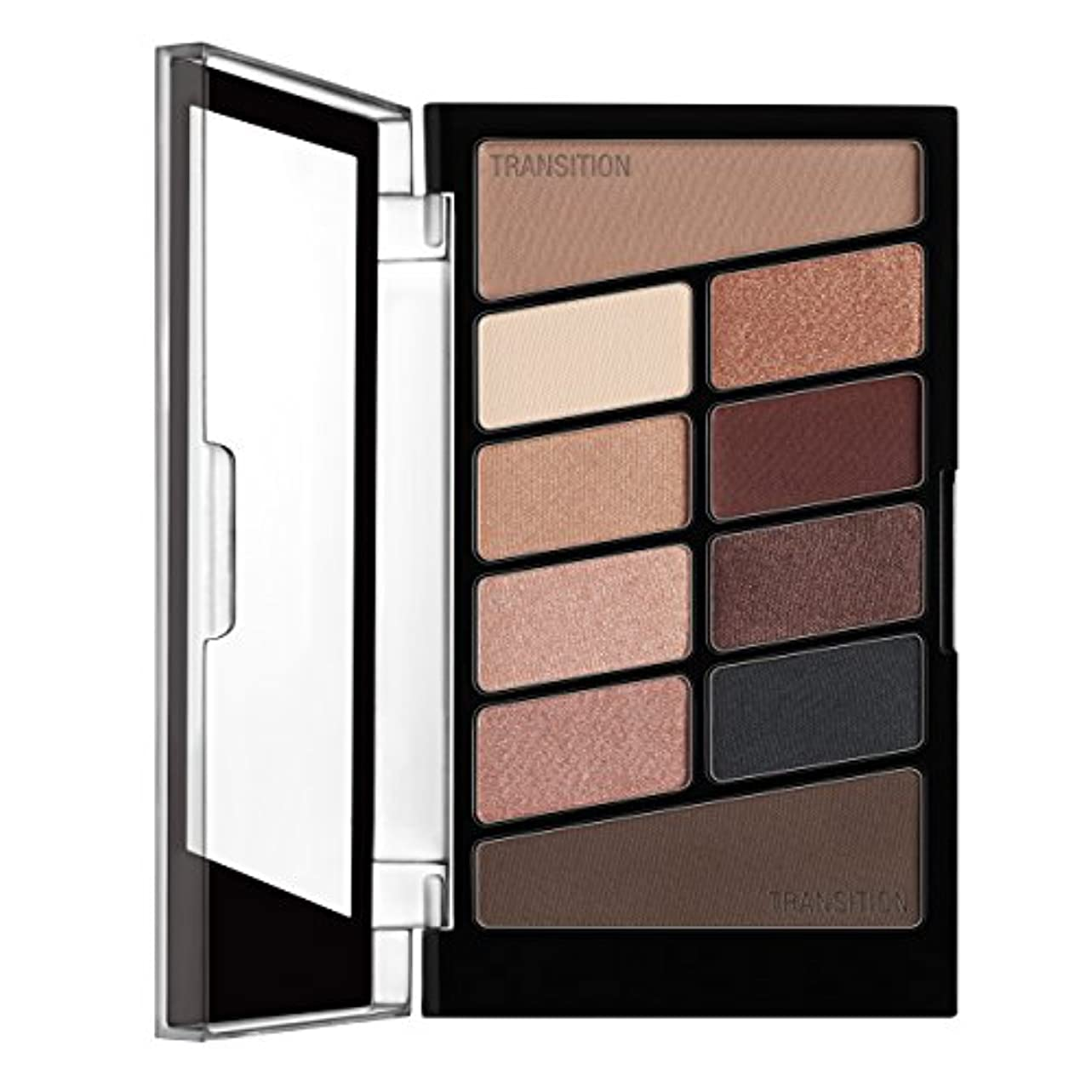 WET N WILD Color Icon Eyeshadow 10 Pan Palette - Nude Awakening (並行輸入品)