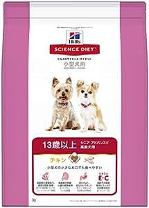 サイエンスダイエット シニアアドバンスド 小型犬用 高齢犬用 13歳以上 3kg [ドッグフード]