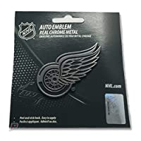 Detroit Red Wings Autoメタルエンブレムクローム
