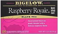 Bigelow Tea - 黒茶ラズベリー ・ ロイヤル - 1ティーバッグ