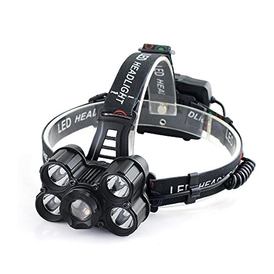 おじいちゃん起こるセマフォUSB充電式 LEDヘッドライト 超高輝度 30000ルーメン XM-L T6 LED 4つの点灯モード 18650電池対応 防水仕様 SOS 点滅 防災/登山/釣り/夜間作業/キャンプ/などに適用