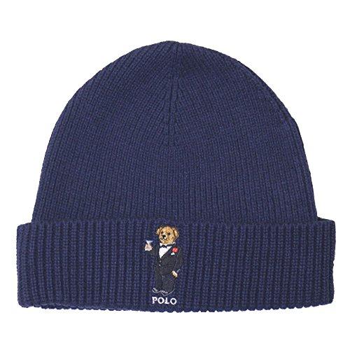 (ラルフローレン)Polo Ralph Lauren メンズ ニット帽子 ( ニットキャップ ) MENS POLO BEAR CUFFED HAT [並行輸入品]