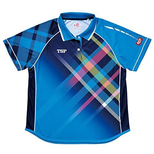 レディスモデストシャツ SS ブルー 1枚 TSP 032411 0120 ヤマト卓球