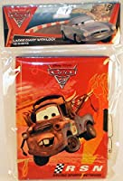 Disney Pixar Cars 2 Hardcover Journal with Lock & Key [並行輸入品]