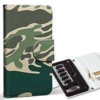 スマコレ ploom TECH プルームテック 専用 レザーケース 手帳型 タバコ ケース カバー 合皮 ケース カバー 収納 プルームケース デザイン 革 チェック・ボーダー 迷彩 カモフラ 模様 004049