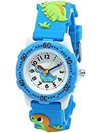 OUYOU キッズ 腕時計 ウォッチ 男の子 女の子 幼児 可愛い 3D柄 おもちゃ 卒園 入学祝い 人気