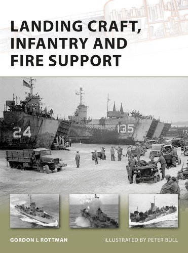Landing Craft, Infantry and Fire Support (New Vanguard Book 157) (English Edition)