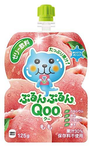 ミニッツメイド ぷるんぷるん Qoo(クー) もも味