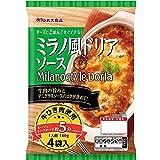 丸大食品 ミラノ風ドリアソース 4P 560g