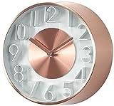 スパイス 壁掛け時計 エッジ サフィスタケーション ウォールクロック カッパー 21cm TELR1080CP