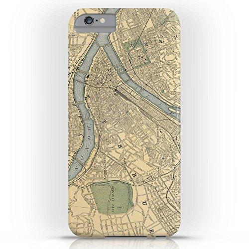 society6ヴィンテージマップのピッツバーグPA ( 1891)スリムケースiPhone 6Plus