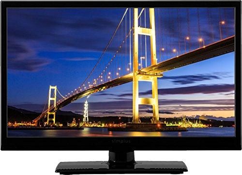 simplus  シンプラス  LED液晶テレビ 外付けHDD録画機能対応  19型, ブラック