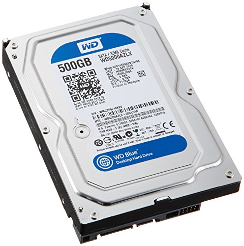 WD Blue 3.5inch 7200rpm 500GB 32MBキャッシュ SATA3.0 WD5000AZLX