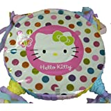 BdayParties Hello Kitty Pink Custom New Party Pinata by Bday Parties