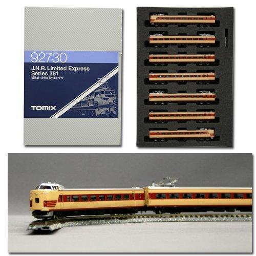 Nゲージ車両 381系特急電車 基本セット 92730