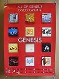 ジェネシス ディスコグラフィ ロックバンド ポスター 索歌手 ミュージシャン レコード品 7080年代 海外 フィルコリンズ
