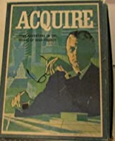 ACQUIRE 1962 3M BOOKSHELF GAME vintage ** High adventure in the world of high finance