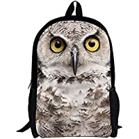 Lightweight Anime Backpack for Kids Cool Cute Animal Printed Schoolbags