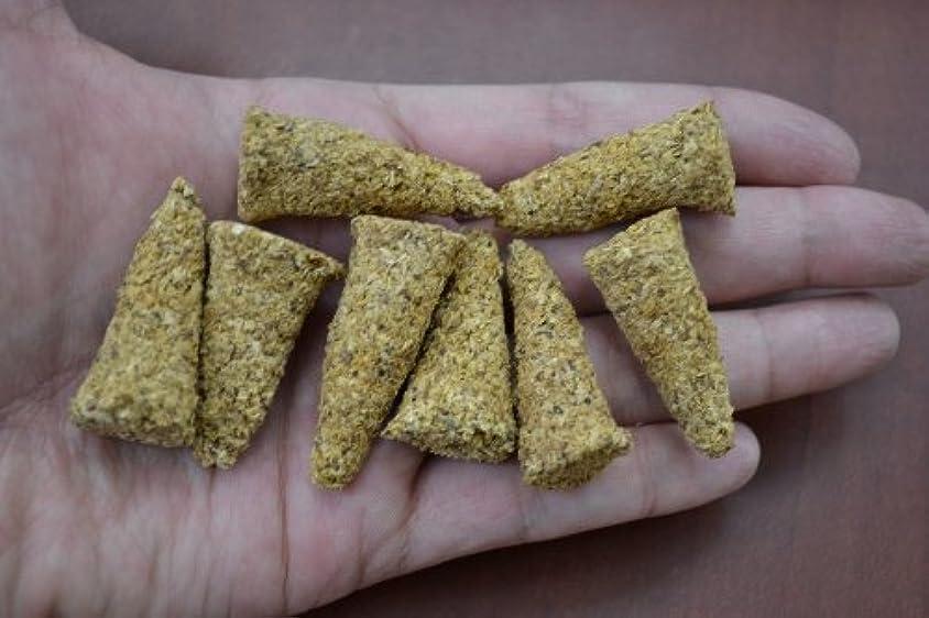 ひも物理ラバPalo Santo Holy Wood Incense Cones 8個