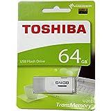 64GB TOSHIBA 東芝 USBメモリー TransMemory USB2.0対応 キャップ式 ホワイト 海外リテール THN-U202W0640A4 [並行輸入品]