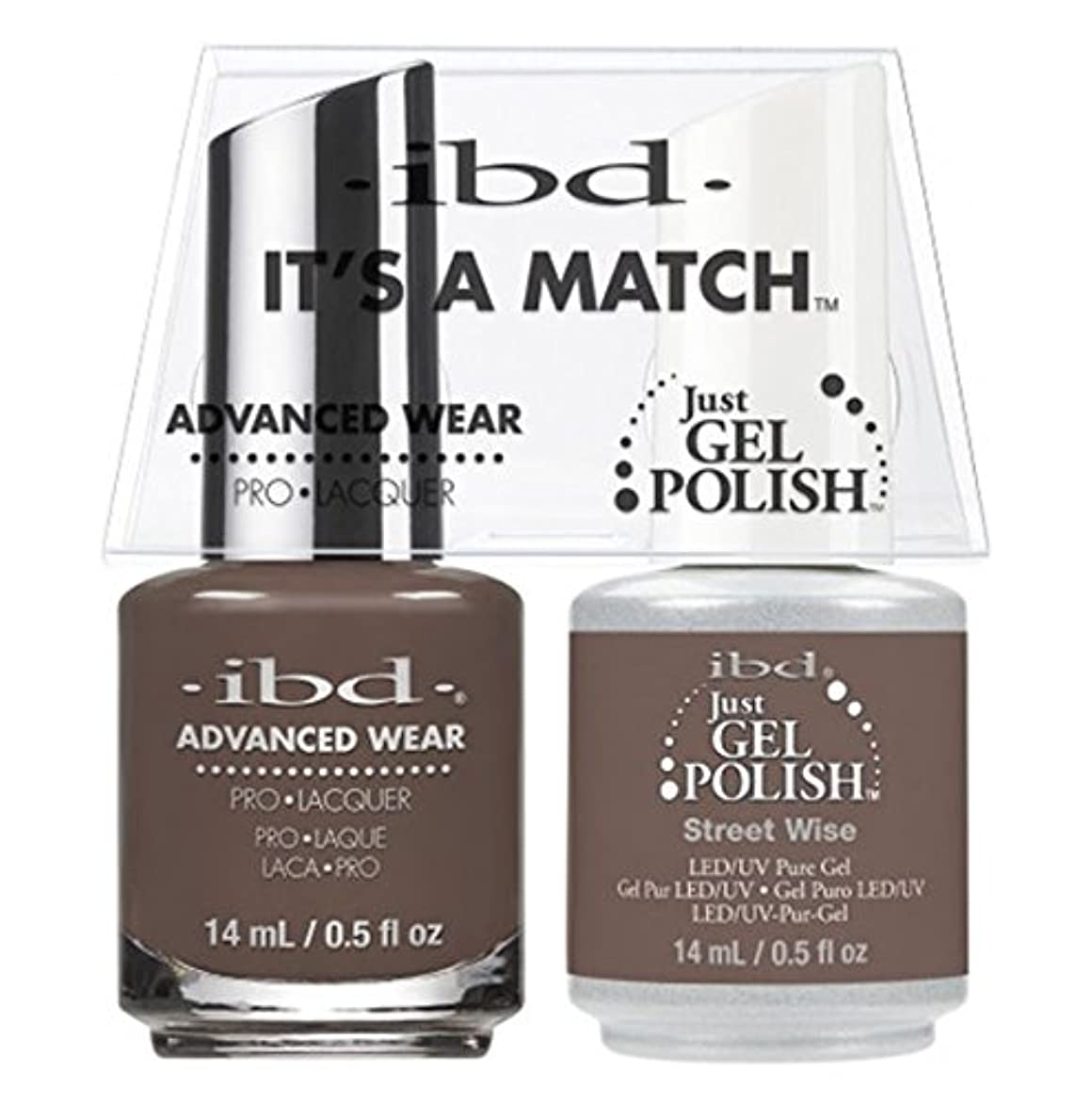 干渉するりたっぷりibd - It's A Match -Duo Pack- Street Wise- 14 mL / 0.5 oz Each