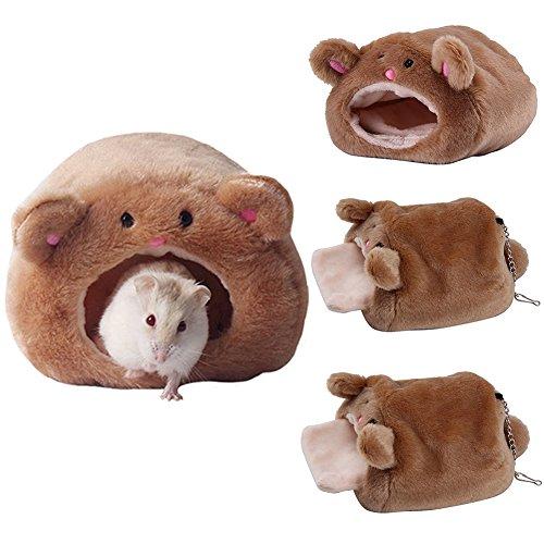 ペットラットネストハンモックハムスターぬいぐるみ暖かいハンギング暖かいソフトベッド小さな動物のペット冬温かいネストケージチンチラヘッジホッグギニアの豚のハムスター