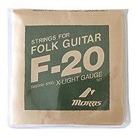 MORRIS F20XL アコースティックギター弦×10SET