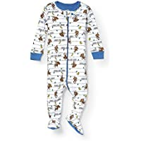 The Children's Place Baby Boys Blanket Sleepers White 94502 6-9MONTHS [並行輸入品]