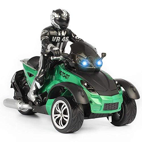 1/10 RCカーの高速レーシング3輪ATVすぐに実行オート...