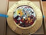 ディズニー 1998年 1999年 2000年 クリスマスプレート 3枚セット