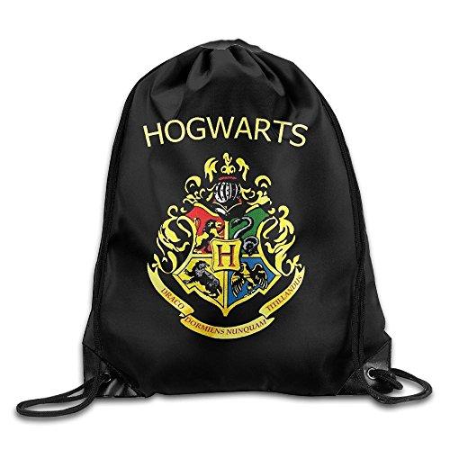 ホグワーツ ハリー・ポッター 魔法 スクール ロゴ 巾着袋 ジムサック 運動 ナップサック スポーツバック スポーツ用バッグ バックパック