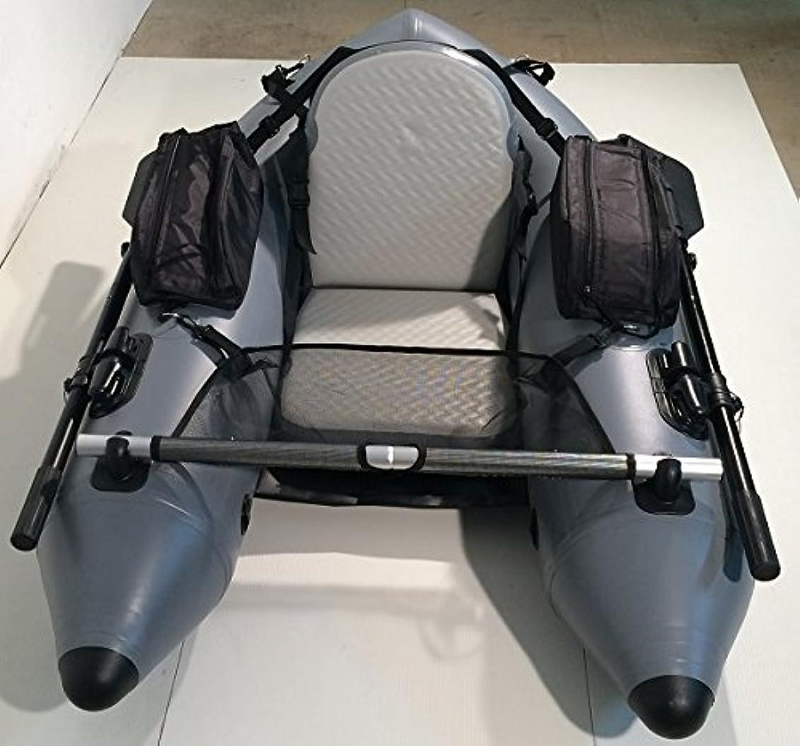 実装する衣服スリンク釣りやレジャーに フロートチューブ フローター U型 DJU-170 インフレータブルなので持ち運び収納が便利なゴムボート