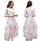 DropDrop(ドロップドロップ) レディース ワンピース ドレス 結婚式 (花柄XL)