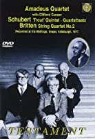 Trout Quintet / Britten String Quartet #2 [DVD] [Import]