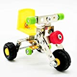 Lovoski アセンブリ 金属 タンクモデル 玩具 ビルディング パズル 子供 知的開発 おもちゃ 全11選択 - LX001