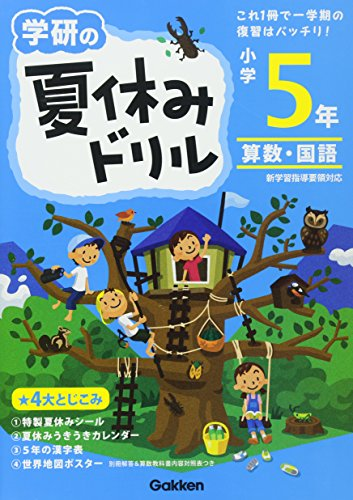 小学5年 (学研の夏休みドリル)