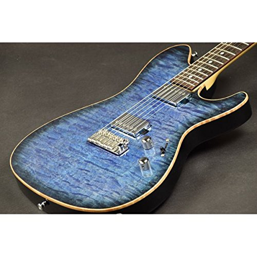 Sugi Guitars / DS496IR EM/AT Maho Deep Ocean Blue Burst